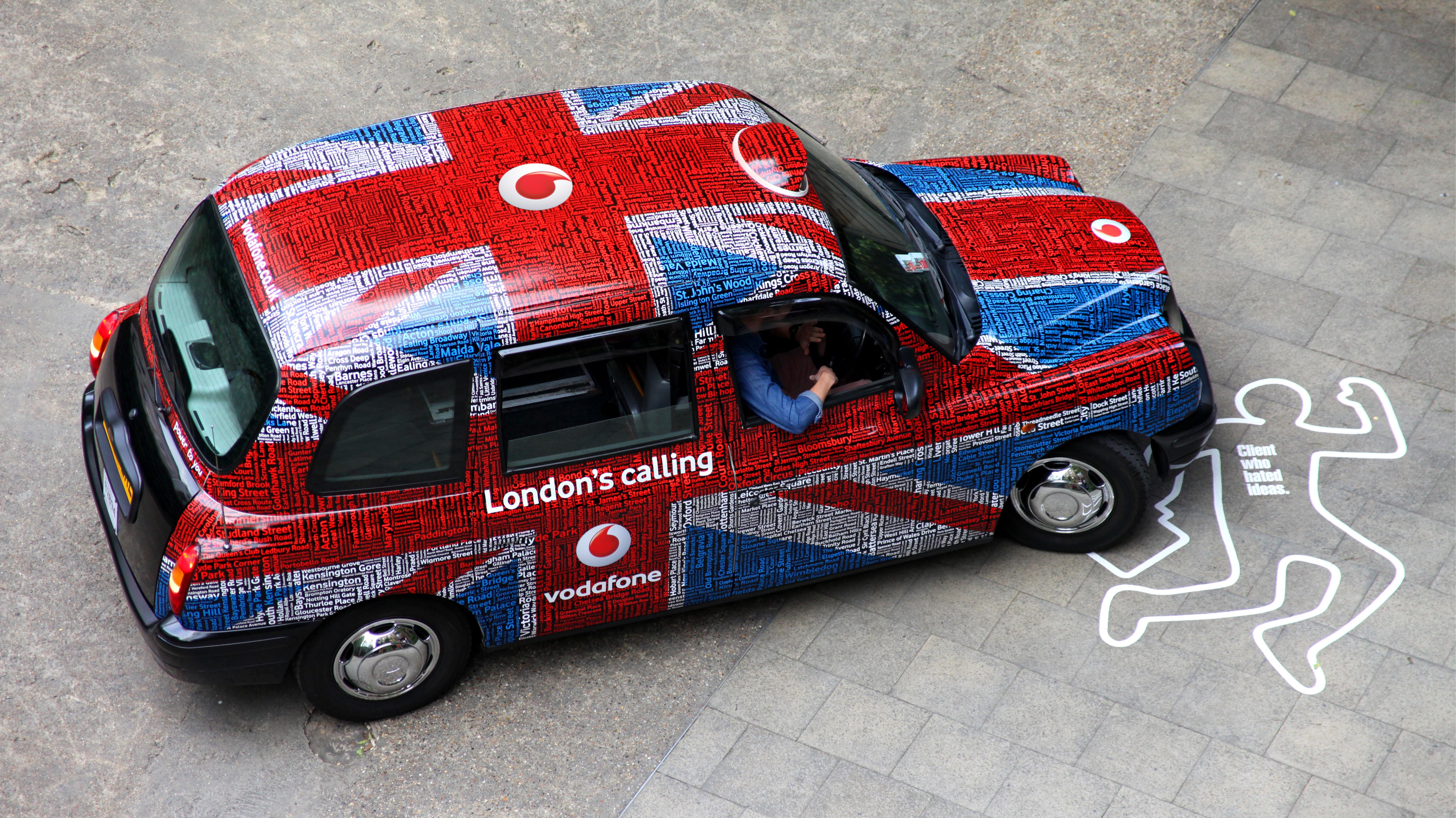 Vodafone Taxi