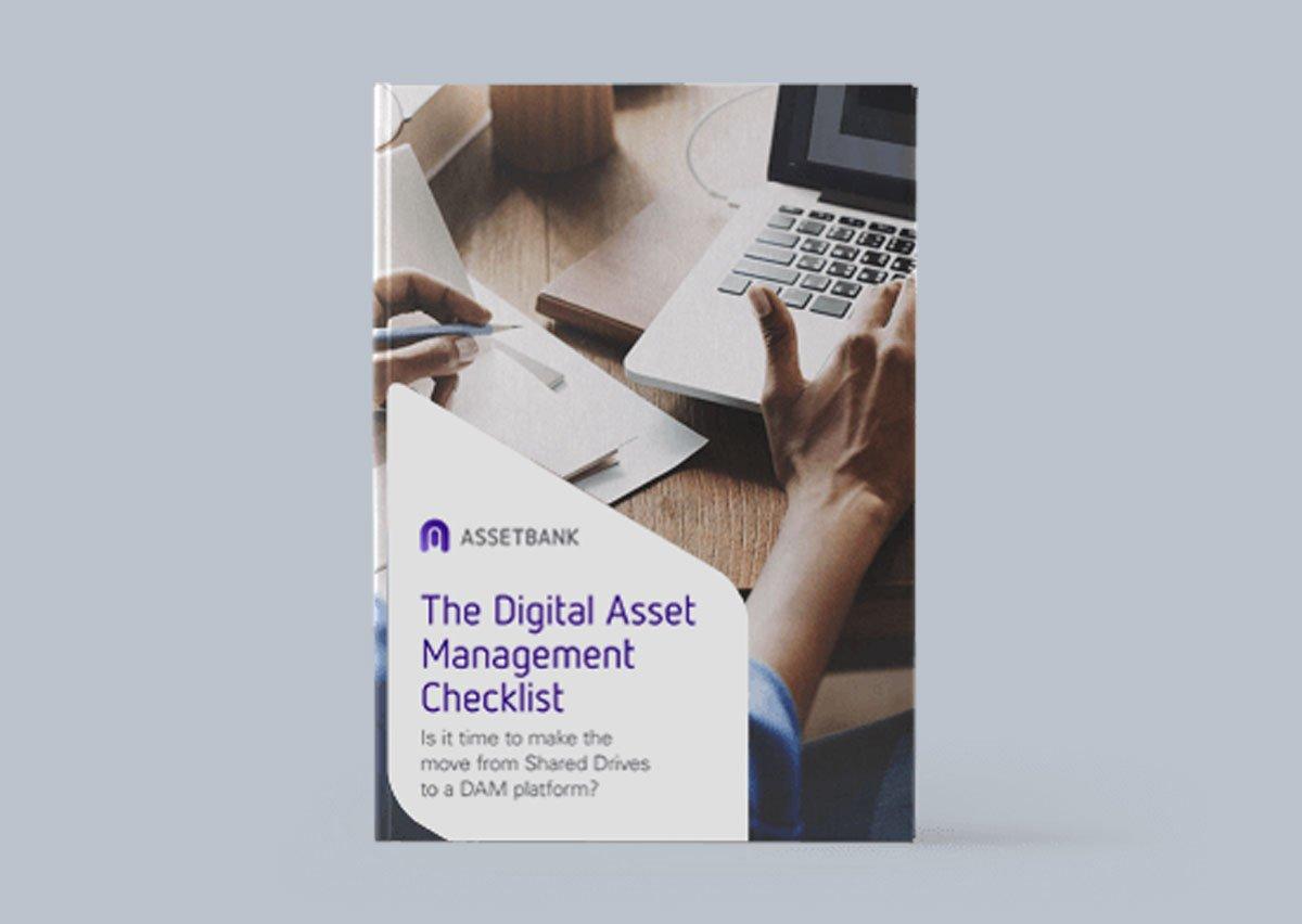 The Digital Asset Management Checklist